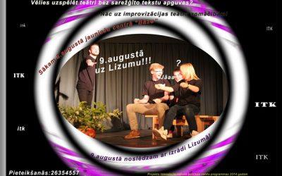 Improvizācijas teātra apmācības vasarā