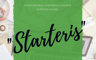 Grantu konkurss jaunajiem uzņēmējiem – STARTERIS