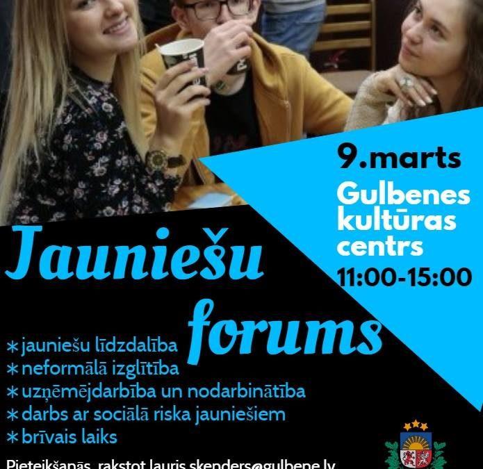 Gulbenes novada jauniešu forums