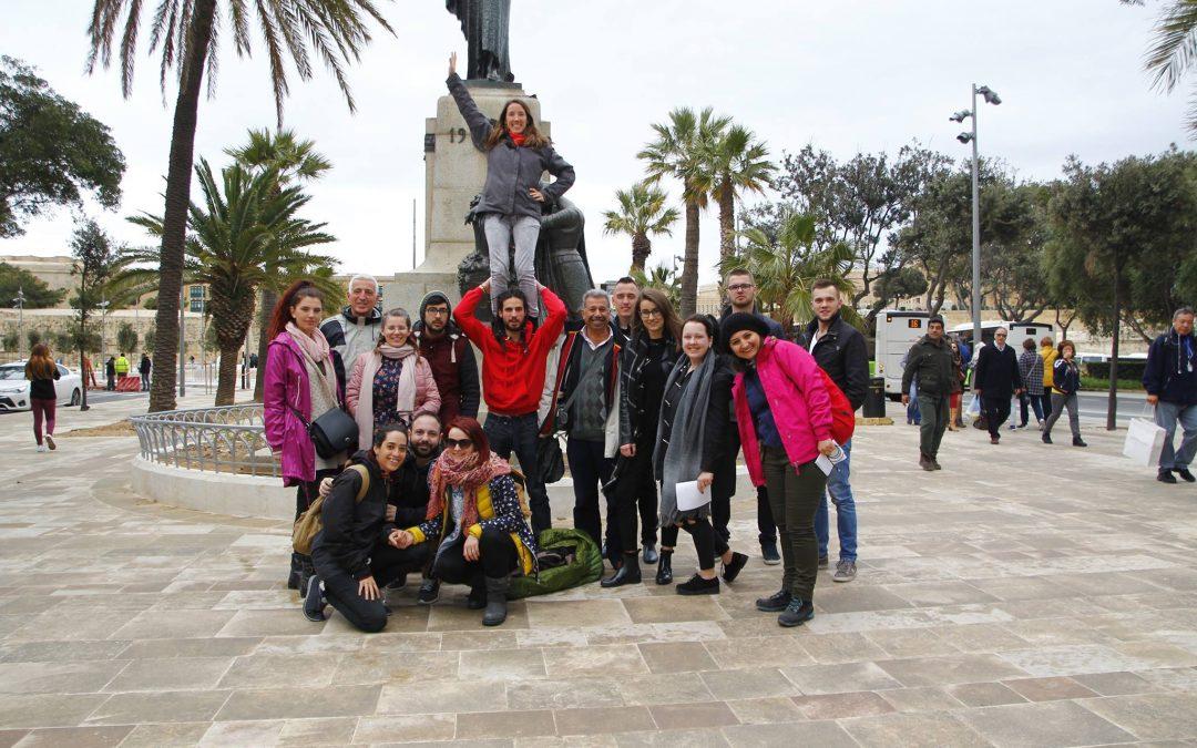 Saulainās apmācības Maltā