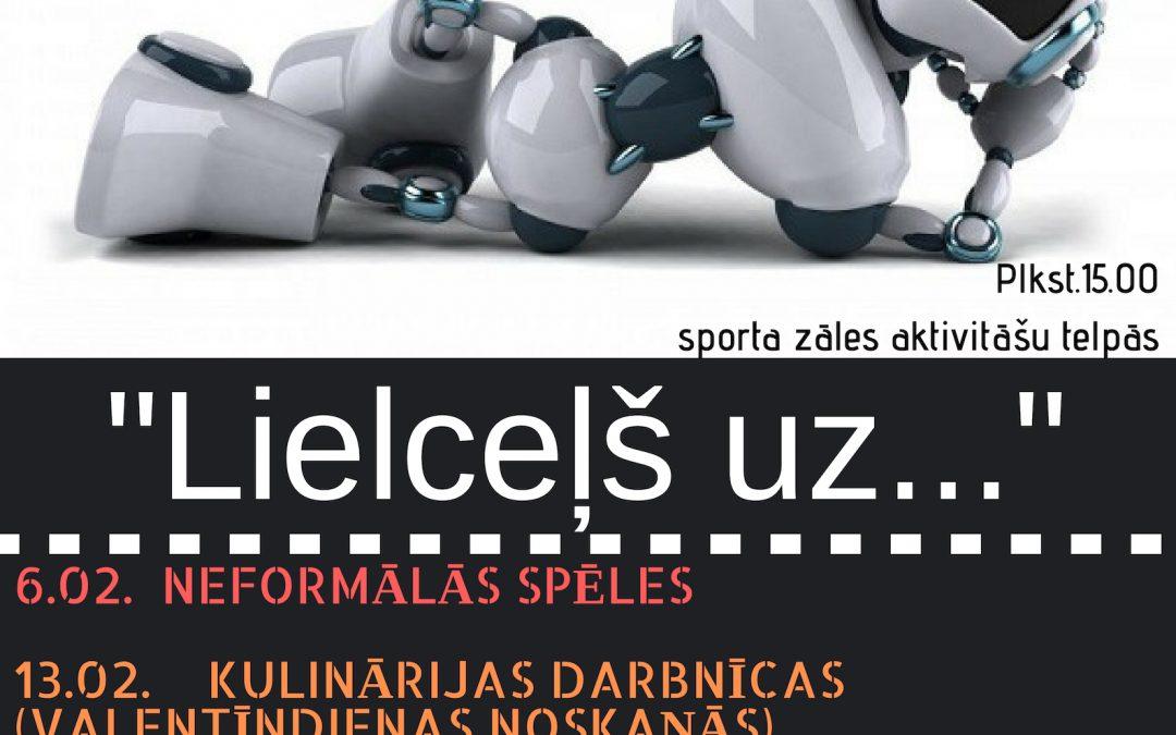 """Mobilais jauniešu centrs Lizumā ar IZM atbalstu projektā """"Lielceļš uz…""""."""