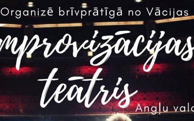 Improvizācijas teātra nodarbības