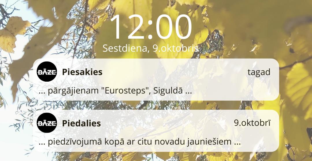 Dodies piedzīvojumā uz Siguldu!