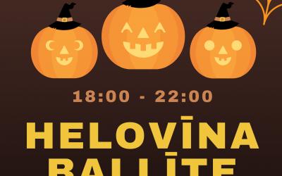 """Helovīna ballīte JC """"Ligzda"""""""