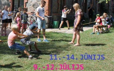 Sākas pieteikšanās Vasaras dienām bērniem!