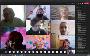 Virtuālā ballīte Gulbenes novada vidusskolas skolēniem