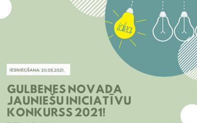 """Īsteno savu ideju """"Gulbenes novada jauniešu iniciatīvu konkursa 2021"""" ietvaros"""