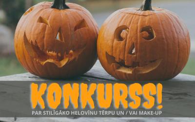 Konkurss par stilīgāko Helovīnu tērpu un / vai make-up